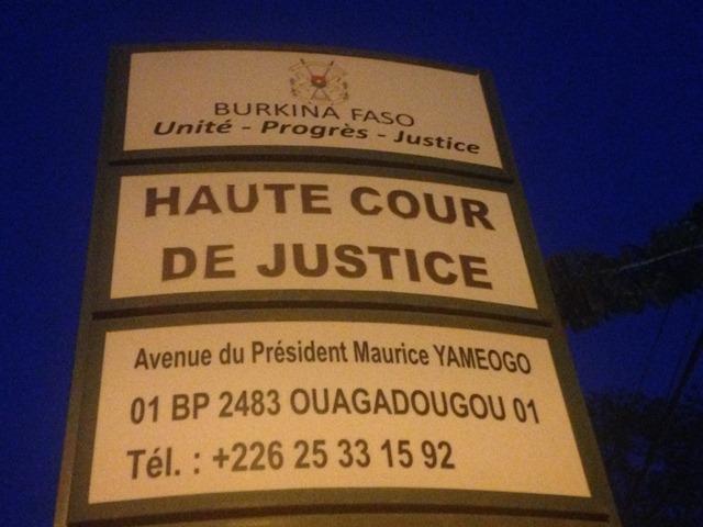 haute cour de justice du burkina les trois ordres d