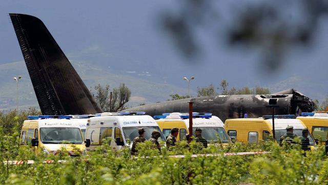 Alg rie 257 morts dans le crash d un avion militaire pr s for Ministere exterieur algerie