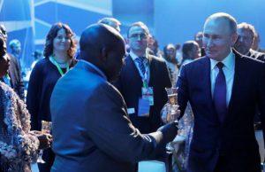 Vladimir Poutine, en nouveau conquérant de l'Afrique (Ph. rfi.fr)